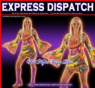 FANCY DRESS COSTUME 60'S/70'S HIPPY GOGO GIRL XS 6-8